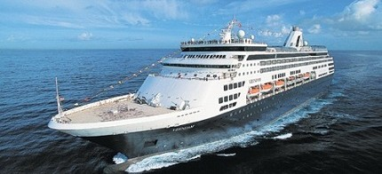 ms Veendam at Sea